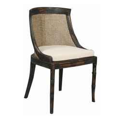 Samuel Cane Chair - Samuel Caned Directoire chair on charlotteandivy.com