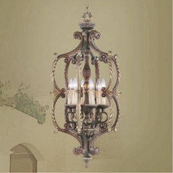 Livex Lighting - Livex Lighting-8864-64-Seville - Six Light Foyer - Height: 36.5""