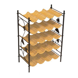 4D Concepts - Wicker Wine Rack - 4D Concepts Wicker Wine Rack. Manufacturer: 4D Concepts. Brand: 4D Concepts. Part Number: 263015. UPC: 649423263151