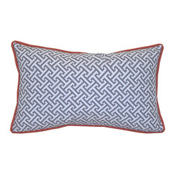 Jiti Pillows Outdoor  Pillow - This just might be the prettiest outdoor pillow I've seen. The durability of outdoor fabric can't be beat. This one is so pretty, I'd even use it indoors — outdoor cushions clean up easily, which makes them great to use in your kitchen space.