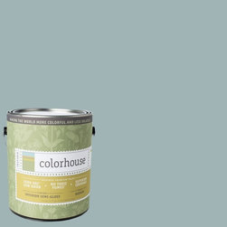 Inspired Semi-Gloss Interior Paint, Water .04, Gallon - Colorhouse paints are zero VOC, low-odor, Green Wise Gold certified and have superior coverage and durability. Our artist-crafted colors are designed to be easy backdrops for living. Colorhouse paints are 100% acrylic with no VOCs (volatile organic compounds), no toxic fumes/HAPs-free, no reproductive toxins, and no chemical solvents.