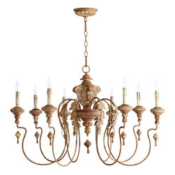 Quorum International - Quorum International 6006-8 Salento 8 Light 1 Tier Chandelier - Features:
