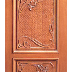 "Single Door, Hand Carved Two Panels in Mahogany - SKU#    Carved-12_1Brand    AAWDoor Type    ExteriorManufacturer Collection    Carved & MansionDoor Model    Door Material    WoodWoodgrain    MahoganyVeneer    Price    1380Door Size Options    30"" x Height"" (2'-6"" x 6'-8"")  $032"" x Height"" (2'-8"" x 6'-8"")  $036"" x Height"" (3'-0"" x 6'-8"")  +$1042"" x Height"" (3'-6"" x 6'-8"")  +$17036"" x Height"" (3'-0"" x 7'-0"")  +$11030"" x Height"" (2'-6"" x 8'-0"")  +$36032"" x Height"" (2'-8"" x 8'-0"")  +$36036"" x Height"" (3'-0"" x 8'-0"")  +$38042"" x Height"" (3'-6"" x 8'-0"")  +$380Core Type    SolidDoor Style    ColonialDoor Lite Style    Door Panel Style    2 Panel , Hand Carved Panel , Raised MouldingHome Style Matching    Mediterranean , Victorian , Old World , Elizabethan , Pueblo , SuburbanDoor Construction    True Stile and RailPrehanging Options    Prehung , SlabPrehung Configuration    Single DoorDoor Thickness (Inches)    1.75Glass Thickness (Inches)    Glass Type    Glass Caming    Glass Features    Glass Style    Glass Texture    Glass Obscurity    Door Features    Door Approvals    Door Finishes    Door Accessories    Weight (lbs)    340Crating Size    25"" (w)x 108"" (l)x 52"" (h)Lead Time    Slab Doors: 7 daysPrehung:14 daysPrefinished, PreHung:21 daysWarranty    1 Year Limited Manufacturer WarrantyHere you can download warranty PDF document."