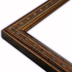 The Frame Guys - Moroccan Brown Picture Frame-Solid Wood, 8.5x11 - *Moroccan Brown Picture Frame-Solid Wood, 8.5x11