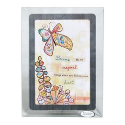 Westland - 4 x 6 Inch Colorful Butterfly Follow Your Heart Musical Photo Frame - This gorgeous 4 x 6 Inch Colorful Butterfly Follow Your Heart Musical Photo Frame  has the finest details and highest quality you will find anywhere! 4 x 6 Inch Colorful Butterfly Follow Your Heart Musical Photo Frame  is truly remarkable.