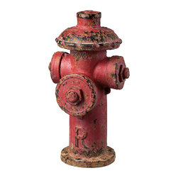 Sterling - Sterling 129-1025 Fire Hydrant Decor - Sterling 129-1025 Fire Hydrant Decor