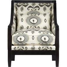 eclectic armchairs by Crate&Barrel