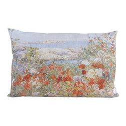 "Poetic Pillow - Ocean View Poetic Pillow - Size: 16"" X 24"" rectangular pillow"