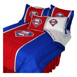 Store51 LLC - MLB Philadelphia Phillies Bedding Set Baseball Bed, Full - Features: