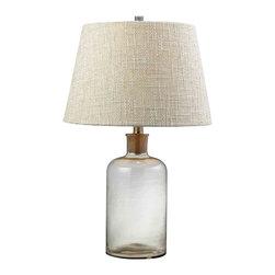 Dimond Lighting - Dimond Lighting HGTV137 HGTV Home Clear Glass Table Lamp - Dimond Lighting HGTV137 HGTV Home Clear Glass Table Lamp