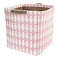 Paper Dolls Storage Bin - I love this paper-dolls bin from DwellStudio so much it makes me wish I had a daughter to shop for! It would make an adorable storage spot for a set of wood blocks or a well-loved collection of stuffed animals.