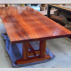 traditional dining tables by offermanwoodshop.com