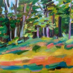 """Radiate, Painting"" - Vermont plein air oil painting on primed wood panel."