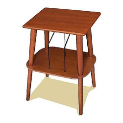 Crosley Radio - Manchester Turntable Stand w Paprika Finish w - Handcrafted Hardwoods and Veneers. Decorative Wire Record Slots for Record Storage. Light Assembly Required. Paprika finish. 18 1/4 in. D x 13 3/4 in. D x 25 in. H . 9 1/2 lbs.