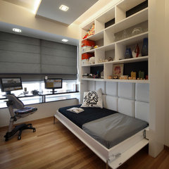 modern bedroom by The Interior Place (S) Pte Ltd