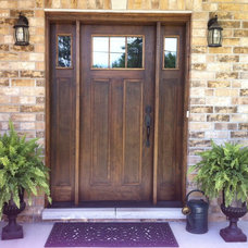 Traditional Front Doors by M&M Construction Services Ltd.