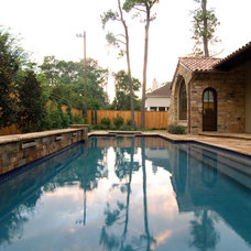 Mediterranean Pool by Allan Edwards Builder Inc