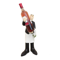 ecWorld - French Waiter Statue Figurine Wine Bottle Holder and Kitchen Decor - This French waiter wine bottle holder will definitely draw your guests' attention as a fine and useful decorative home centerpiece - and add a special touch of elegance to your next dinner party! It's a fun home decor piece and a great gift idea for that special wine enthusiast.