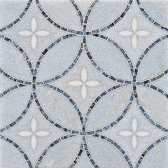 eclectic kitchen tile by Rebekah Zaveloff
