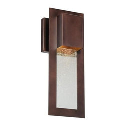 Minka-Lavery - Minka-Lavery Westgate 1-Light Outdoor Wall Mount - 72381-246 - This 1-Light Foyer Hall Fixture has a Bronze Finish and is part of the Westgate Collection. It is Dark Sky Compliant.