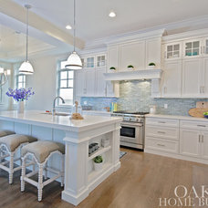 Beach Style Kitchen by Oakley Home Builders