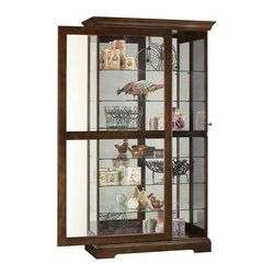 Shop Glass Shelves Curio Cabinet Products on Houzz