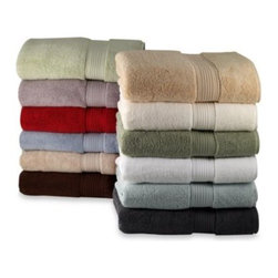 Elizabeth Arden - Elizabeth Arden The Spa Collection Hand Towel - Create the luxurious and comfortable spa experience at home with these sumptuous towels by Elizabeth Arden. The thick, soft towels have a simple design with a ribbed band detail, and come in an array of spa colors to complement any bathroom.
