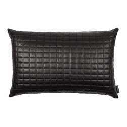 Louise Roe Design Essentials - Brick Quilt Modern Pillow - This is a gorgeous pillow with a beautiful brick pattern to give that extra texture to your couch or chair. By Danish designer Louise Roe.