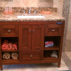 Contemporary Bathroom Vanities And Sink Consoles by Richmond Tile and Bath