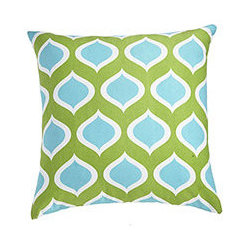 PERSEPOLIS PILLOW PEACOCK - Ever take a look around and realize things have gotten a little drab? Or are you just ready to change up your color scheme? Introducing our line of fun, punchy modern graphic pillow covers, each lending a bright pop of color to your home. These vibrant cotton covers are an inexpensive way to easily update a space. Simply cover your existing pillows with this cover, swap out a couple of accessories, and voila!–instant makeover.