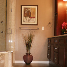 Traditional Bathroom by Very Red Design