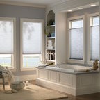 Light-Filtering Honeycomb Shades - American-Made, high quality, affordable Cell Shades by Shades Shutters Blinds