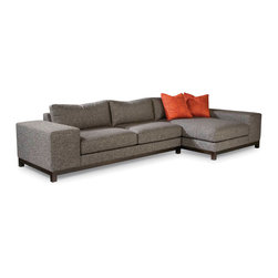 Maxwood Sectional from Thayer Coggin - Thayer Coggin Inc.