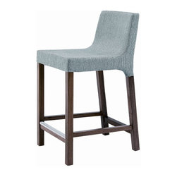 Knicker Counterstool - Love this counterstool with the fantastic texture of the fabric - this is a great looking, comfortable stool!