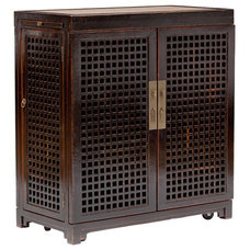 Asian Wine And Bar Cabinets by High Fashion Home