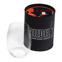 "Riedel - Riedel O O to Go Red Wine - Have you ever ordered a good bottle of wine at restaurant only to find that the glassware is lacking? Now, bring your own Riedel glass with the new ""O� to GO, an easy and convenient way to carry your glass anywhere."