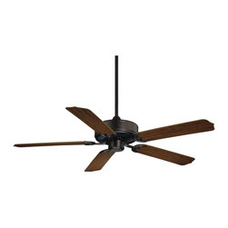 Savoy House - Nomad Ceiling Fan - Traditional fan for outdoor spaces.