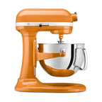 KitchenAid Professional 600 Series 6-quart Bowl-Llft Stand Mixer, Tangerine - KitchenAid mixers are the bomb, and everyone knows it. This orange caramel color just makes me want to whip up something delicious.