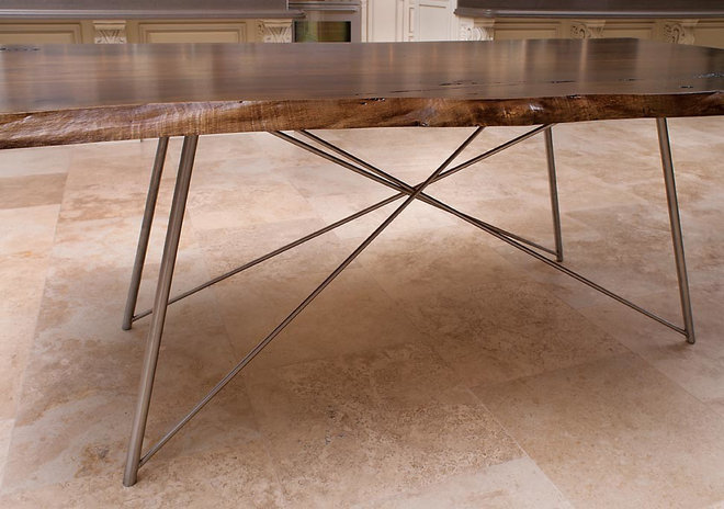 Modern Dining Tables by Craft Art Elegant Surfaces
