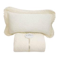 Mayenne Maison - Vintage Bedspread Set - 100%Matelasse.