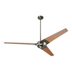 """Modern Fan Company - Modern Fan Company Torsion Bright Nickel 52"""" Ceiling Fan - Features:"""