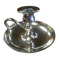Victorian Style Candle Holder with Finger Handle - *** FREE SHIPPING !!! ***
