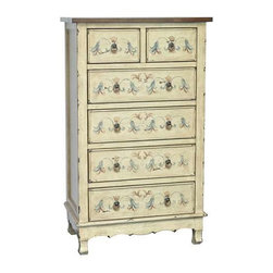 Weatherford 6 Drawer Tall Chest - Weatherford 6 Drawer Tall Chest 27 x 16 x 45.5 Accent Furniture ETA Shipping Early December 2013 27 x 16 x 45.5