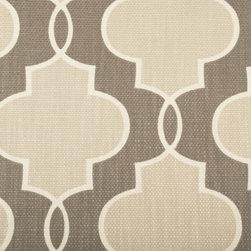 Geometric - Ivory Upholstery Fabric - Item #1012263-84.