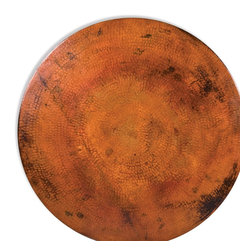 Round Copper Table Tops by Mathews & Co. - Specifications