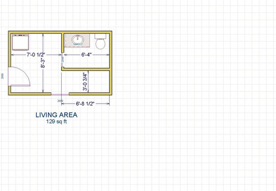 Half Bathroom Floor Layout : Suggestions for a laundry room and half bath