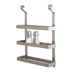 Mikael Warnhammar - GRUNDTAL Spice rack - Spice rack, stainless steel
