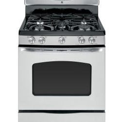 GE 30-Inch Self-Cleaning Freestanding Gas Convection Range In Stainless Steel - A self-cleaning gas range is worth the few extra dollars compared to those units that you have to clean on your own. I like this stainless steel range by GE because it has so many options at an affordable price.