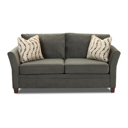 Savvy - Murano Studio Sofa in Belsire Pewter - Murano Studio Sofa in Belsire Pewter
