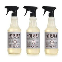 Mrs. Meyer's Glass Cleaner - Lavender - Case Of 6 - 24 Oz - Mrs. Meyers Clean Day Window Spray in Lavender is an all natural, eco-friendly cleaner that gives exceptional results. Use on mirrors, windows, and all glass surfaces inside and outside the home to leave all surface sparkling and streak free. The formula is made from all natural, plant-derived ingredients so you can be sure your home and the environment are safe.